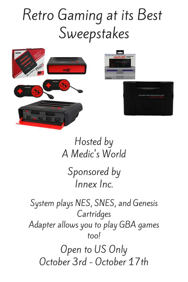 Retro Gaming at its Best Giveaway