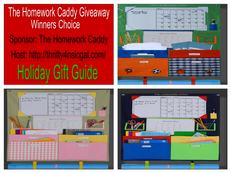 The Homework Caddy #GiftGuide Giveaway