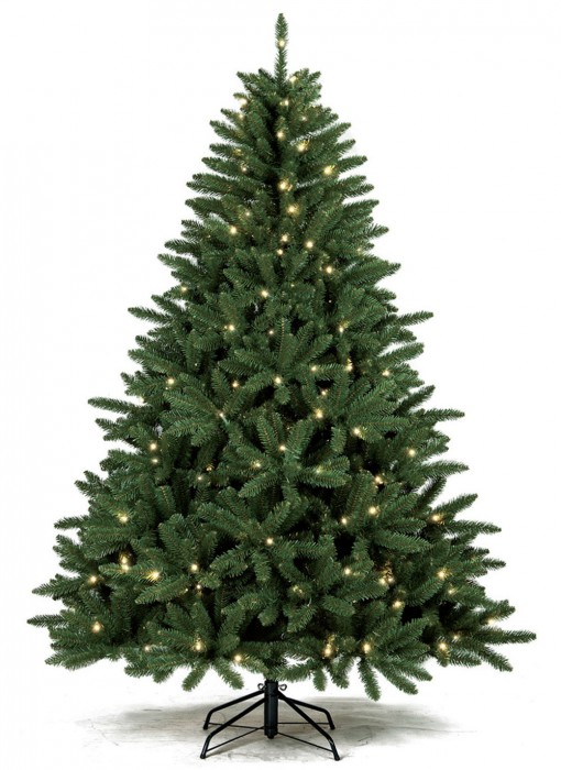 Cypress-Spruce-Prelit-LED-Artificial-Christmas-Tree-510x700