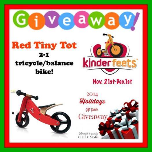 Kinderfeets Red Bike Giveaway