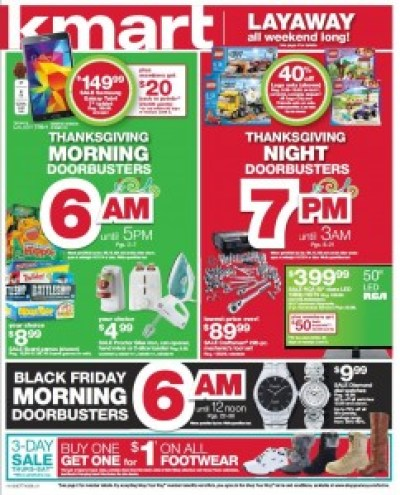 Kmart #BlackFriday Ad