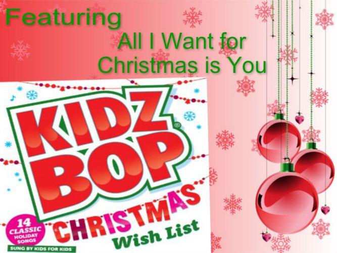 Kidz Bop Christmas CD Giveaway