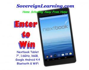Nextbook Tablet Sweepstakes