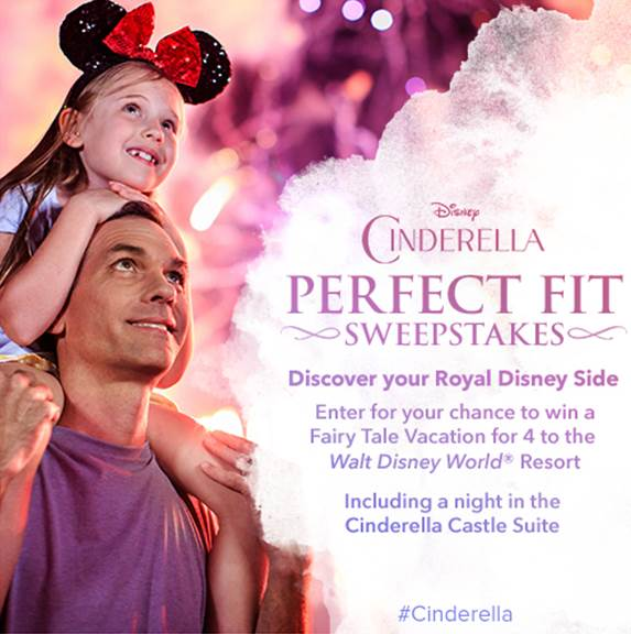 CINDERELLA - Walt Disney World Sweepstakes