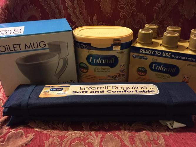 Enfamil® Reguline™ for the Occasional Uncomfortable Stooling.  Use For the Little Ones  AD