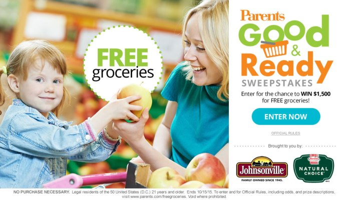 Meredith Corp Parents Good and Ready Sweepstakes