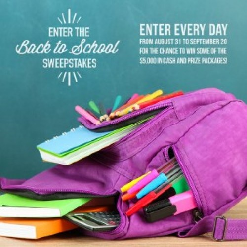 Newhall Laboratories Back To School Sweepstakes