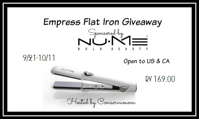 NuME Empress Flat Iron Giveaway