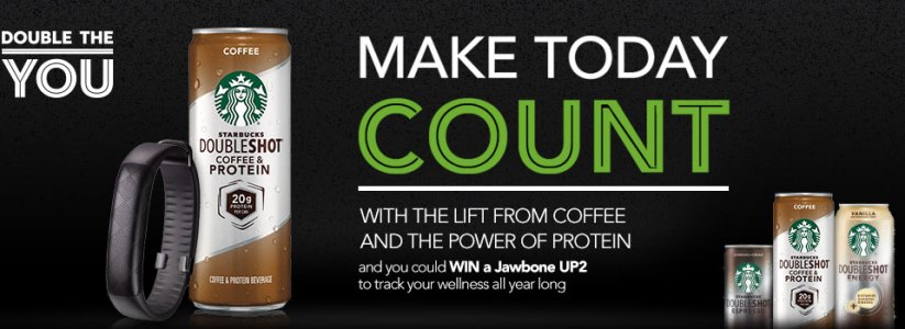 Starbucks Make Today Count 2015 Sweepstakes