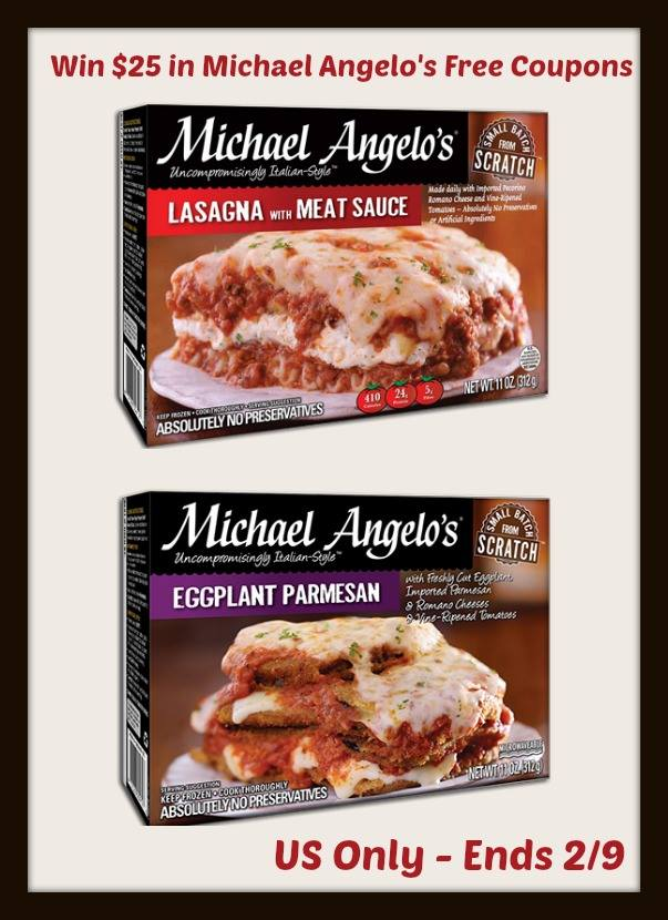 Michael Angelo's Products Giveaway