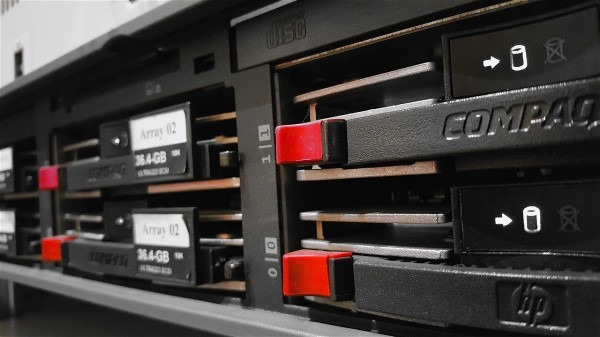 Personal Computer Lab HP Servers