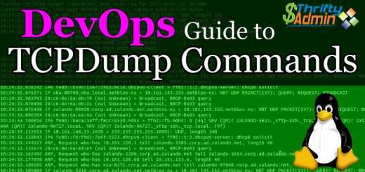 TCPDump Commands
