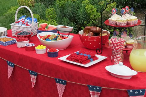 World Market Americana Themed Party + Enter The Red, White
