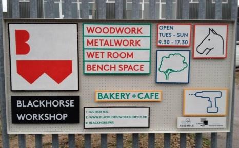 The Blackhorse Workshop opens its doors to the public © TWITTER, THE BLACKHORSE WORKSHOP