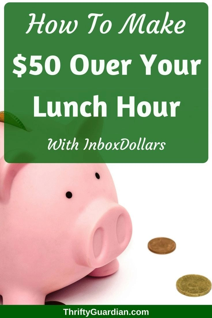 InboxDollars scam? I think not! InboxDollars review: How I made $50 over my lunch hour.
