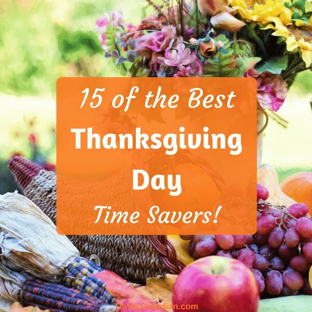 15 Turkey Day Time Savers