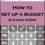 How to set up a budget, financial freedom, developing a budget, budget to save