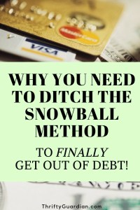 ditch the snowball method
