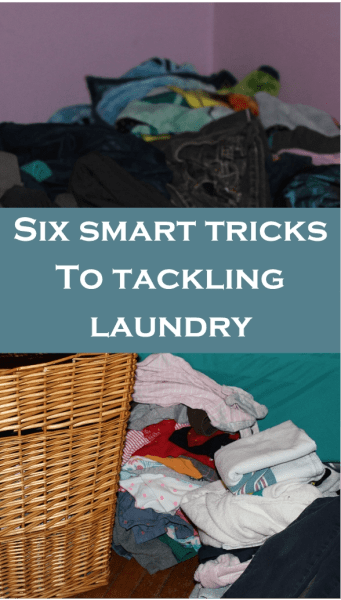 Six Smart Tricks to Tackling Laundry, Make Doing Laundry Easier and Faster, Do Laundry Quicker, Spend less time doing laundry!