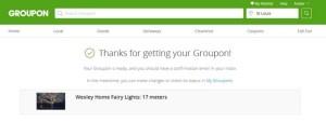 Groupon Goods - Save money shopping via Groupon!