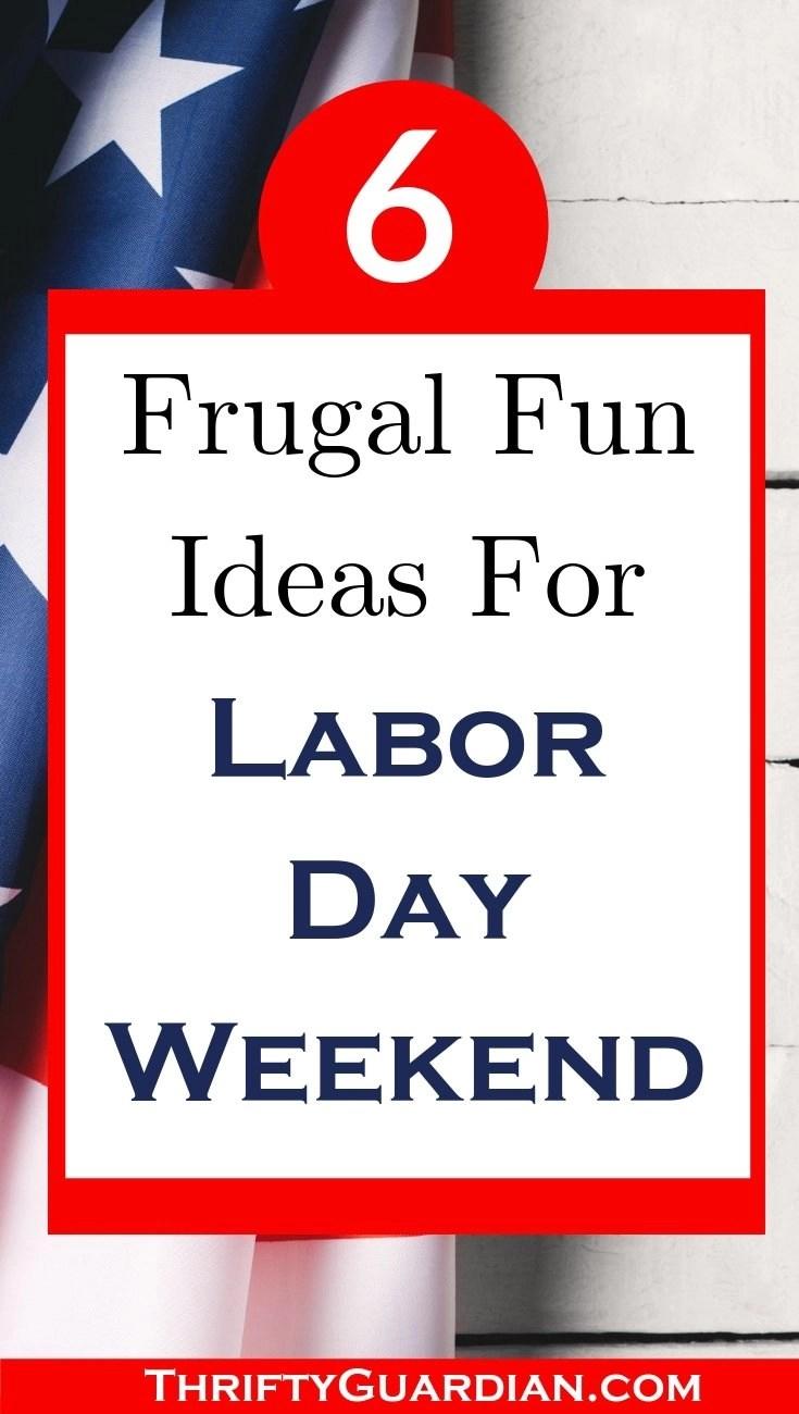 labor day family fun ideas