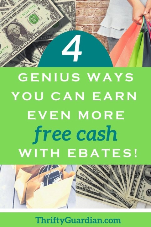 How to earn even more money with ebates and get the cashback you deserve