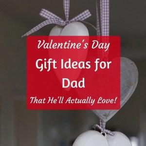 Frugal Valentine's Day Ideas for Dad