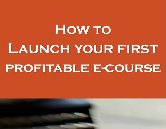 create an e-course, how to make money with an online course, passive income ideas