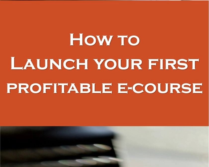 How I Sold Out My First Online Course