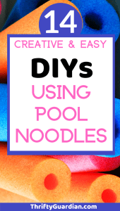 pool noodle ideas