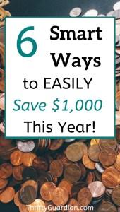 saving money tricks