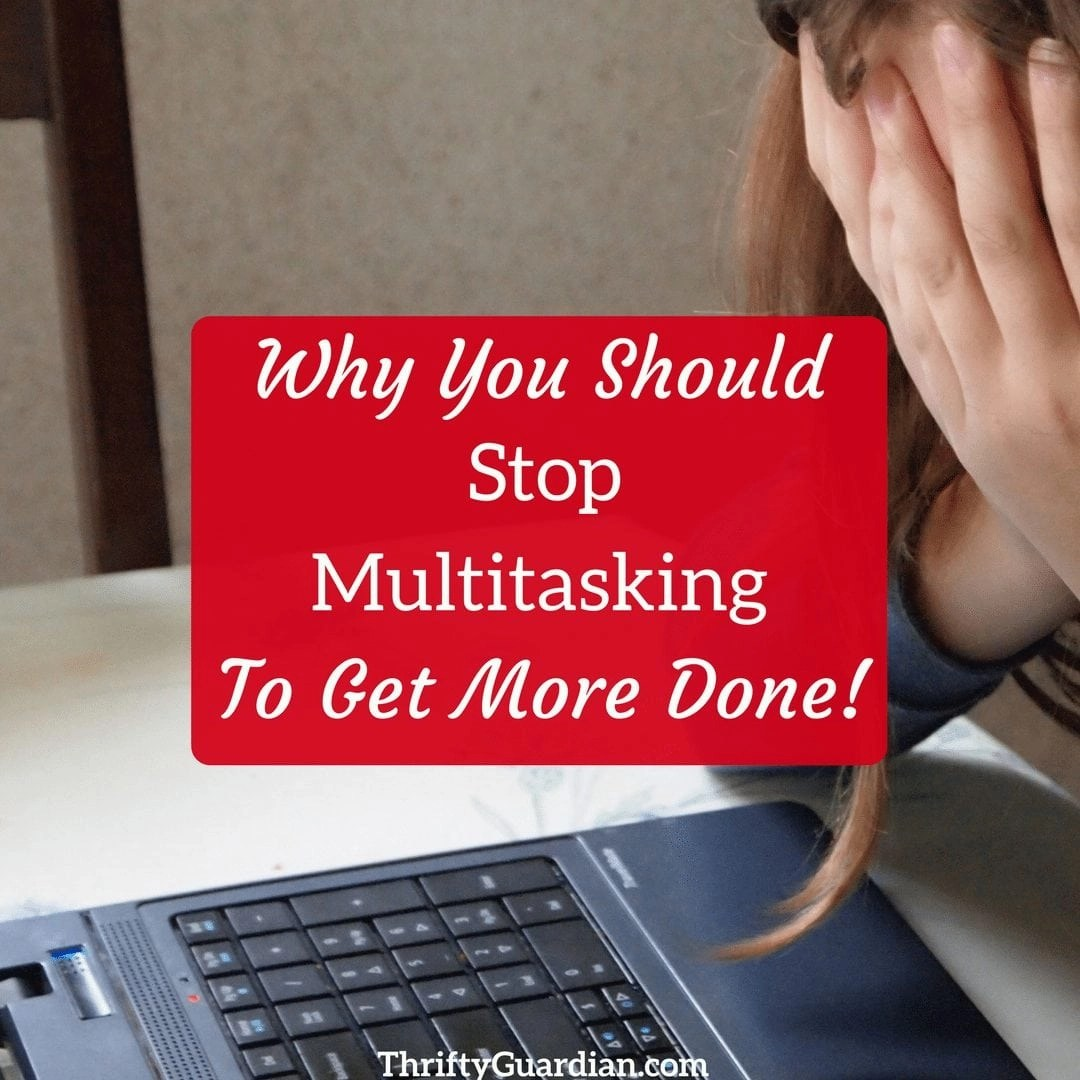 Why I'm Not a Multitasking Momma