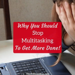 Why I'm Not a Multitasking Momma