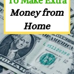 lots of ideas to make money from home