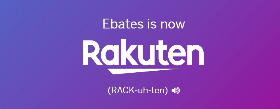 Ebates Is Becoming Rakuten banner