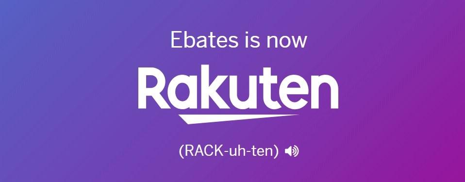 Ebates Is Becoming Rakuten banner