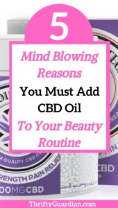 cbd oil for beauty