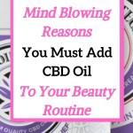 cbd oil for beauty