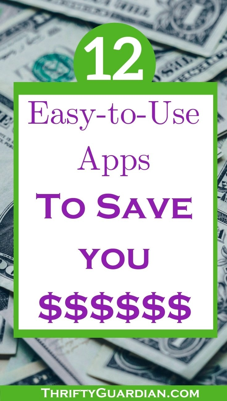 money saving apps