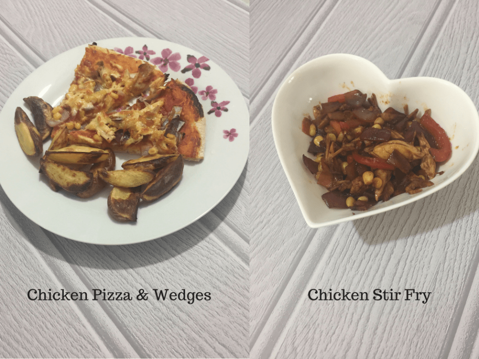 Four dinners I made to make chicken stretch