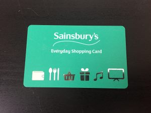 Sainsbury's Gift Card from Zeek