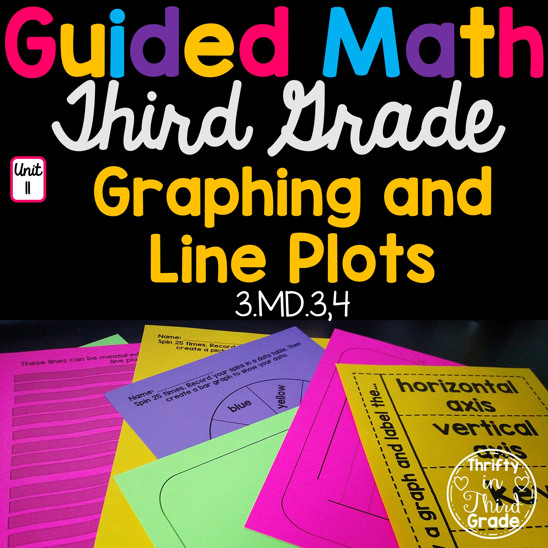3rd Grade Guided Math Unit 11 Graphing And Line Plots