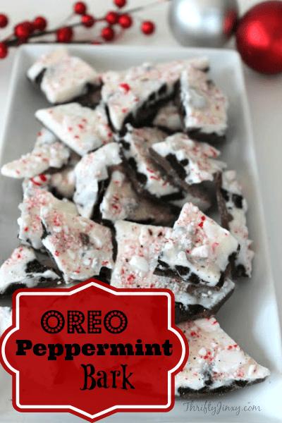 Oreo Peppermint Bark Recipe Thrifty Jinxy