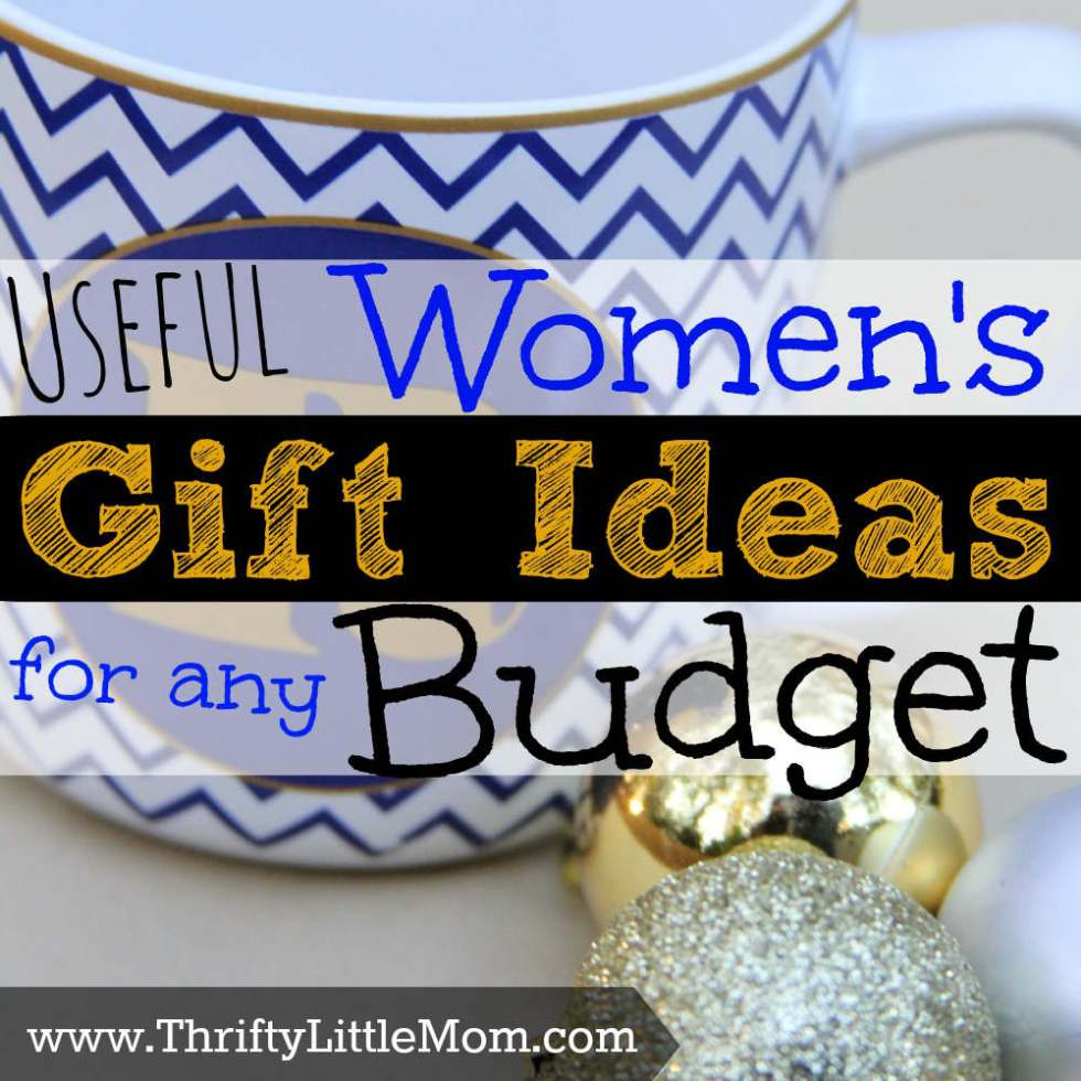 Useful Women's Gift Ideas For Any Budget » Thrifty Little Mom