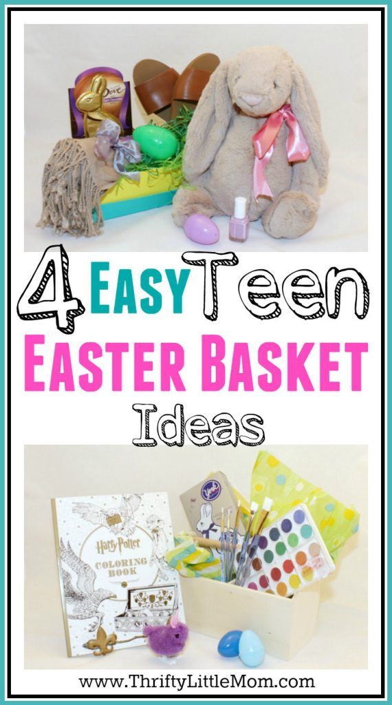 4 Awesome Teen Easter Basket Ideas » Thrifty Little Mom
