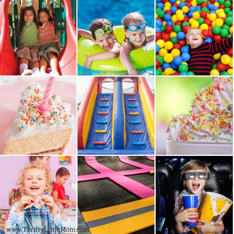 Birthday Party Places 25 That Your Kids Will Love