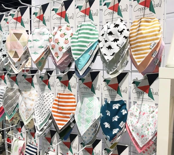 Copper Pearl Baby Bandana Bibs | Top Baby Products for 2017 from the ABC Kids Expo