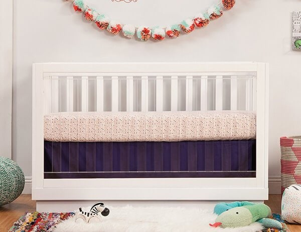 Babyletto Acrylic Harlow Crib | Top Baby Products for 2017 from the ABC Kids Expo