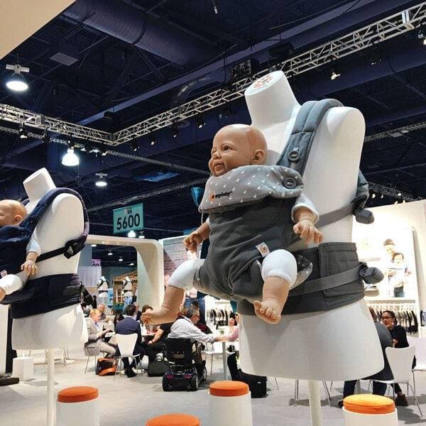 Ergobaby Baby Carriers | Top Baby Products for 2017 from the ABC Kids Expo