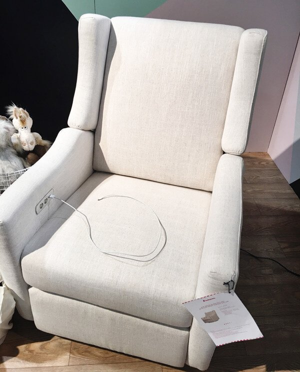 NurseryWorks Swivel Glider | Top Baby Products for 2017 from the ABC Kids Expo